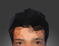 Low Poly Self Portrait