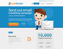 Website design for mailkicker
