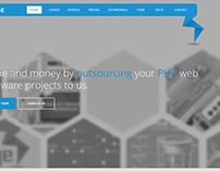 Webdesign - landing page