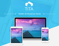 Tita 3D - Modern & Unique Wordpress Theme