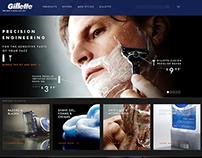 Gillette.com 2012