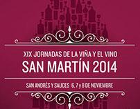 Jornadas de la Viña y el Vino San Martín 2014