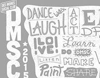 Des Moines Social Club T-shirt Design