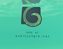 'Beach Series - Underwater Logo'- After Effect template