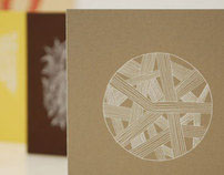 Screenprinted Note Cards