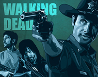 The Walking Dead - Alternative Series Poster