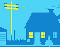 Video Animation: Online Ad for Energy Services