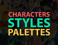 characters & styles