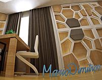Interior design small apartment 38kvm by Mario Dimitrov