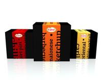 Calvé Sauces // Packaging