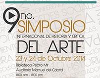 9no. Simposio Internacional Historia y Critica del arte