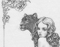 Drawings 2014 / Le mystère des Bégonias