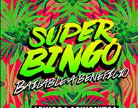 Bingo bailable a beneficio poster