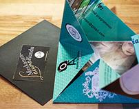 printed buisness cards & portfolio
