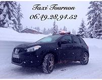 Taxi Tournon 06.49.28.94.52 & le Nissan QASHQAI.