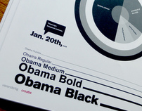 obama's speech: a typographic interpretation