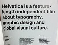 Self Work: Helveticafilm A2Poster