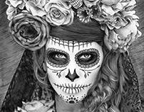 Sugar Skull - Día de Muertos by Julio Lucas