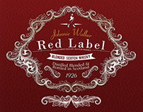 Redesigned  label of RED label