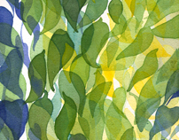 Leaves: Watercolor