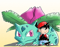 Red & Ivysaur