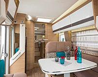 Camper interiors and exteriors RV Vehicles