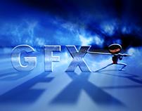 GFX Ninja Logo Volume Light