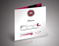 FIAT 500L Party Flyer