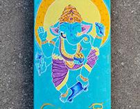 Skate Ganesha
