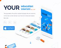 UI/UX for Education iOS app