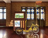 Diseño expositivo - Museo entomológico móvil