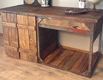 Industrial Workbench Bar