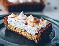 Pumpkin cheesecake tart