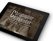 Christopher Alexander | iPad App