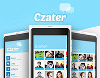 Czater  Windows Phone chat application