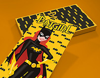Illustrated Batman Cards