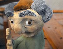 Mr.Ghantous - Clay Figure