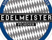 Edelmeister Beer Etiquette - Bottle and can label