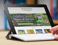 Hosanna Home & Garden Website, Brand, and Products