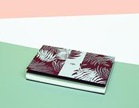 notebooks with little calendar
