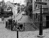 Montmartre in Black and White