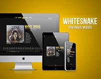 WHITESNAKE - Responsive Hotsite