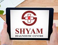 Shyam Diagnostic Center Logo Design