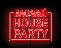 Bacardi House Photo Booth