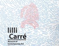 Packaging design for  lilli carrè brand