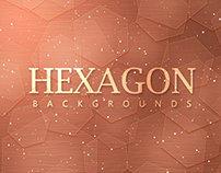 Hexagon Backgrounds - $3