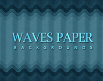 Waves Paper Backgrounds - $4