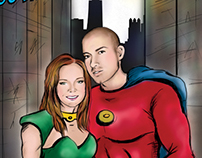 Superhero Save the Dates