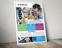 Modern Agency/ Business Flyer Template