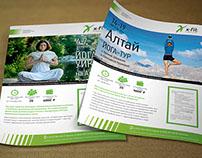 Серия плакатов для известной сети фитнесс-клубов.